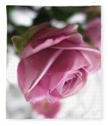 Beautiful Lavender Rose 2 Fleece Blanket