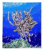 Beautiful Marine Plants 1 Fleece Blanket