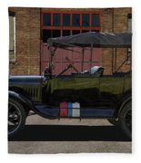 Beautiful Model T Touring Car Fleece Blanket