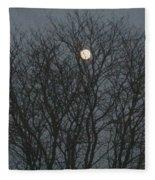 Beautiful Moon Fleece Blanket