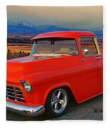 Beautiful Pick Up Truck Fleece Blanket