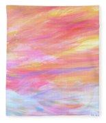 Beautiful Possibilities - Contemporary Art Fleece Blanket