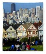 Beautiful San Francisco Fleece Blanket