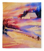 Beautiful Serenity Fleece Blanket