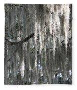 Beautiful Spanish Moss Fleece Blanket