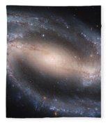 Beautiful Spiral Galaxy Fleece Blanket