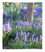 Beautiful Spring Day Fleece Blanket