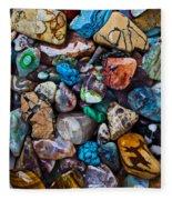 Beautiful Stones Fleece Blanket