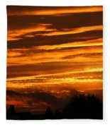 Beautiful Sunset Fleece Blanket
