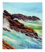 Beautiful Surf Fleece Blanket