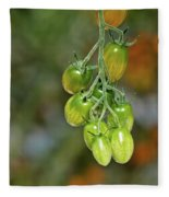 Beautiful Tomatoes Fleece Blanket