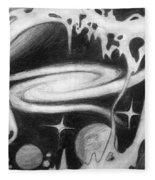 Beautiful Universe 2. Space Art Fleece Blanket