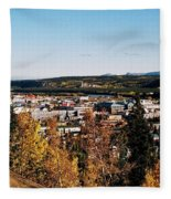 Beautiful Whitehorse ... Fleece Blanket