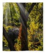 Beautiful Woodlands Fleece Blanket