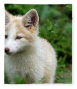 Beautiful Young Fox Portrait Fleece Blanket