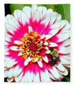 Beauty And The Bee #1 Fleece Blanket