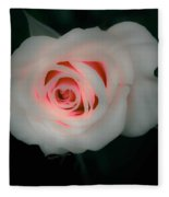 Beauty Comes From Within Fleece Blanket