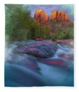 Beauty From Afar Fleece Blanket
