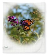 Beauty In God's Handiwork 2 Fleece Blanket