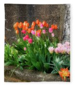 Beauty In Ruins Fleece Blanket