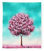 Beauty In The Bloom Fleece Blanket