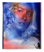 Beauty In The Clouds Fleece Blanket