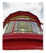 Beauty In The Lighthouse Lens Fleece Blanket