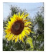 Beauty In The Pines Fleece Blanket