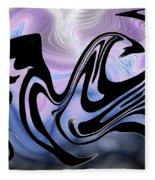 Beauty Is Wild In Spirit Fleece Blanket