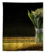 Beauty Of The Valley Fleece Blanket