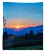 Beauty On The Water Fleece Blanket