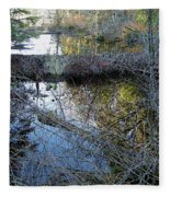 Beaver Dam Fleece Blanket
