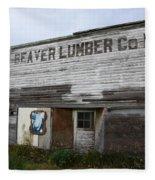 Beaver Lumber Company Ltd Robsart Fleece Blanket
