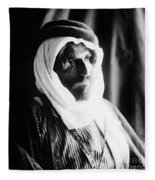 Bedouin Man, C1910 Fleece Blanket