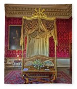 Bedroom At Holkham Hall Fleece Blanket