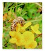 Bee Fleece Blanket