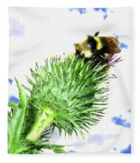 Bee-line 4 Fleece Blanket
