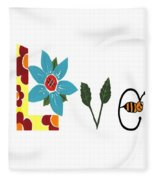 Bee Love Fleece Blanket