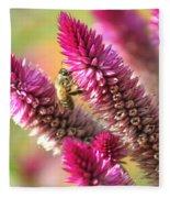Bee Lunch Fleece Blanket