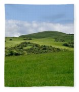 Beecraigs Hills. Fleece Blanket