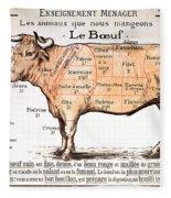 Beef Fleece Blanket