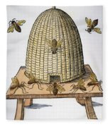 Beehive, 1658 Fleece Blanket