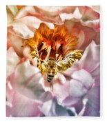 Beekeeper Fleece Blanket