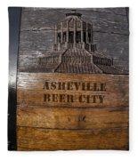 Beer Barrel City Fleece Blanket