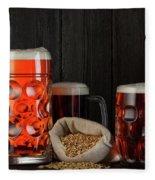 Beer Fleece Blanket