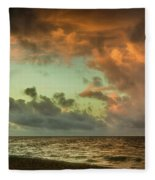 Before Sunrise Fleece Blanket