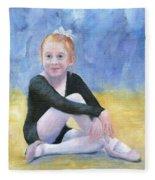 Beginning Ballet Fleece Blanket
