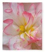 Begonia Pink Frills - Vertival Fleece Blanket