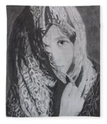 Behind The Veil Fleece Blanket