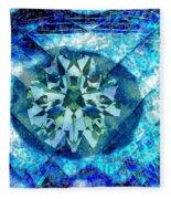 Behold The Jeweled Eye Fleece Blanket